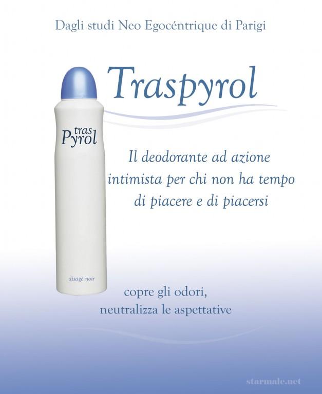 """spot """"Traspyrol"""""""