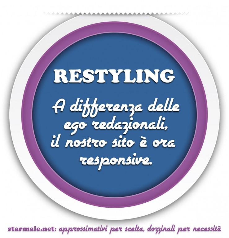 Restyling (pron.: restàiling)