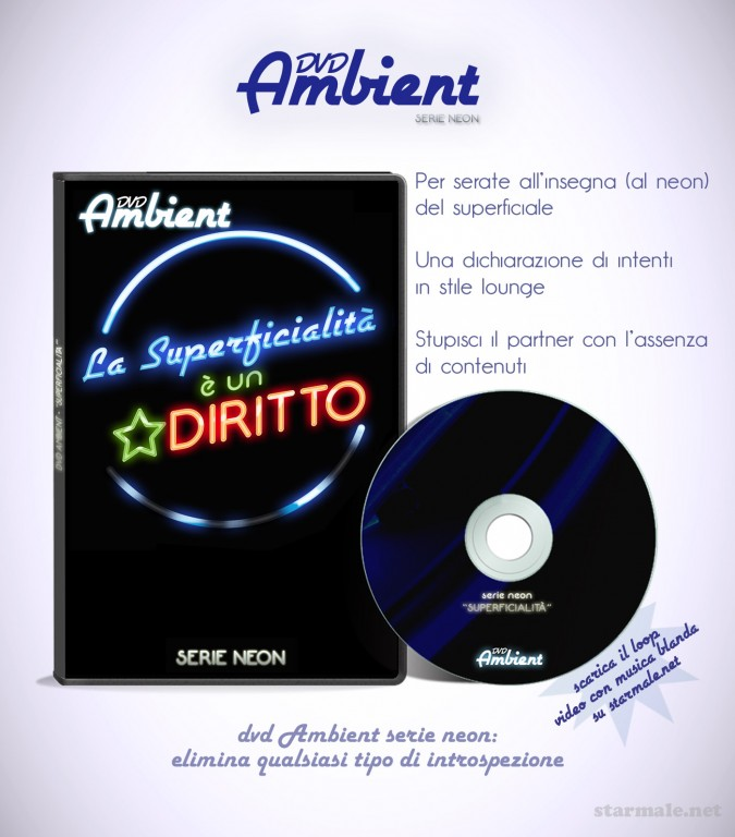 "spot ""dvd Ambient Superficialità"""