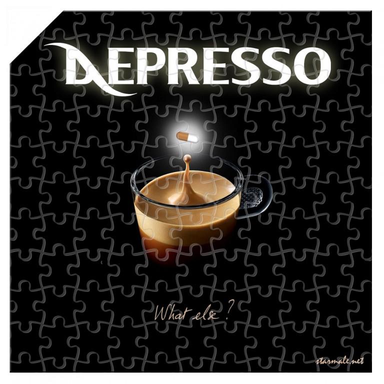 """puzzle """"Depresso"""""""