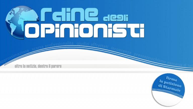 Creazione dell'Ordine degli Opinionisti: la petizione di Starmale