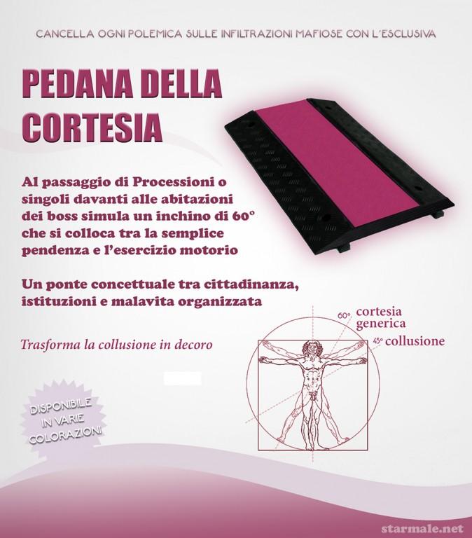 """spot """"Pedana della Cortesia"""""""