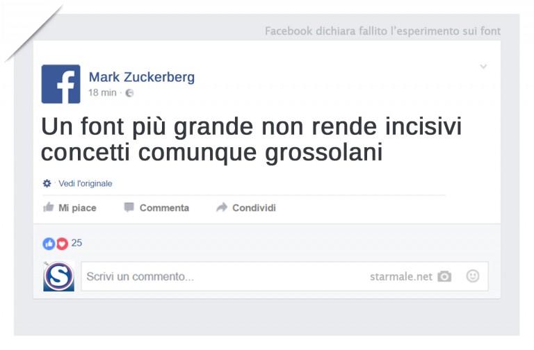 Facebook, fallimento: il caso