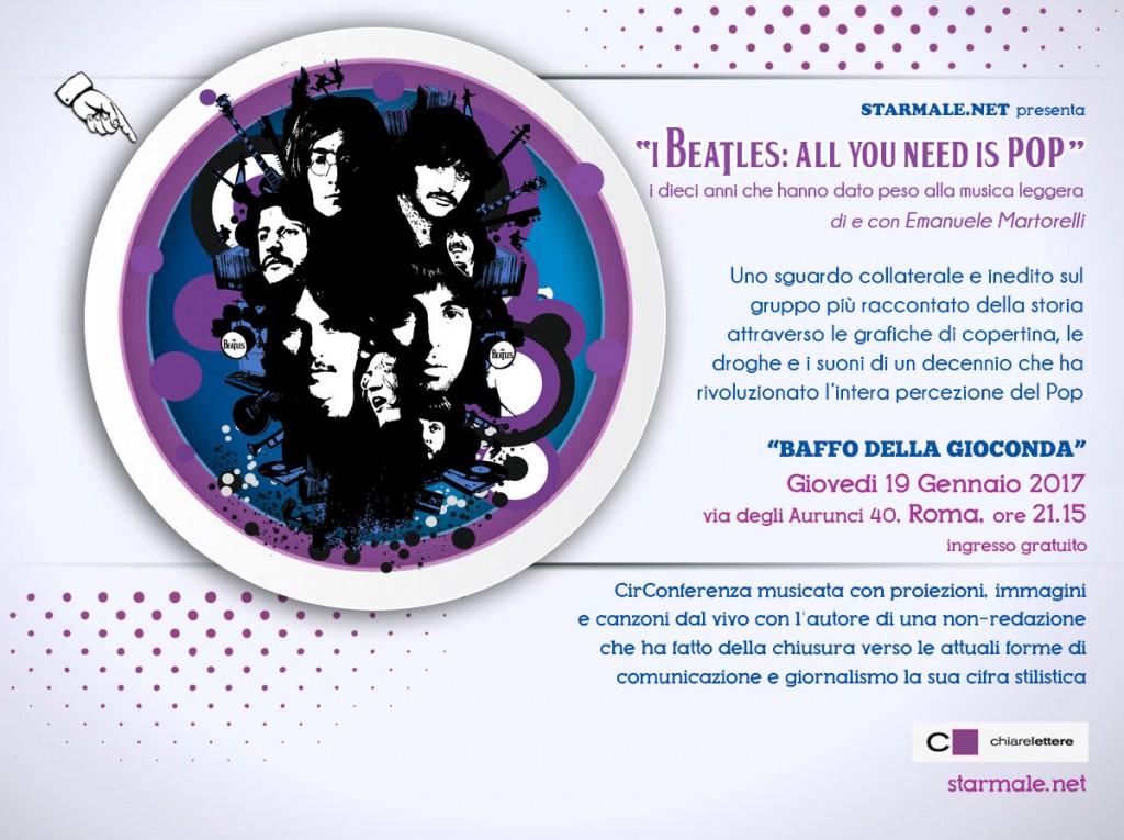i Beatles: All you need is Pop. Starmale dal vivo