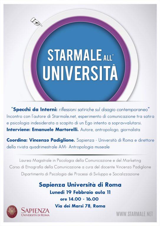 Starmale all'Università