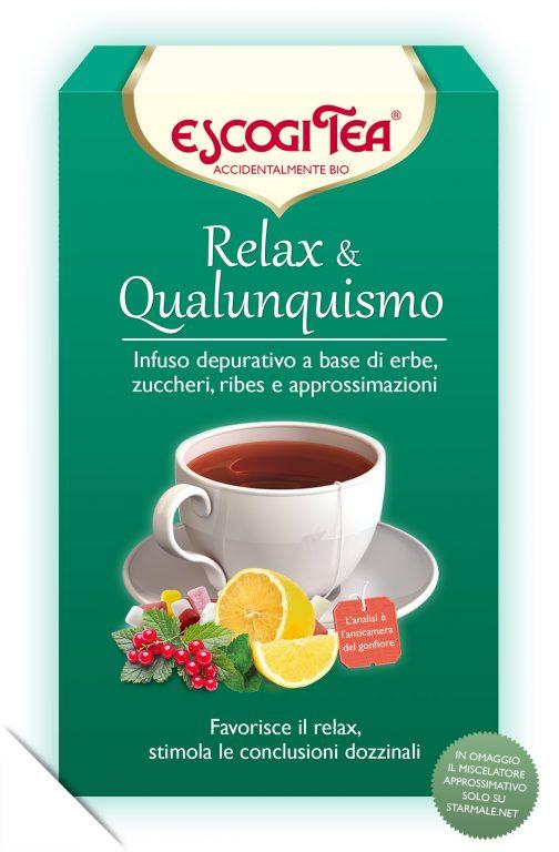 """tisana """"Relax & Qualunquismo"""""""