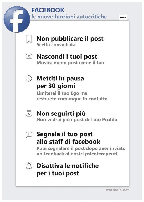 Facebook, arriva il pacchetto autocritica