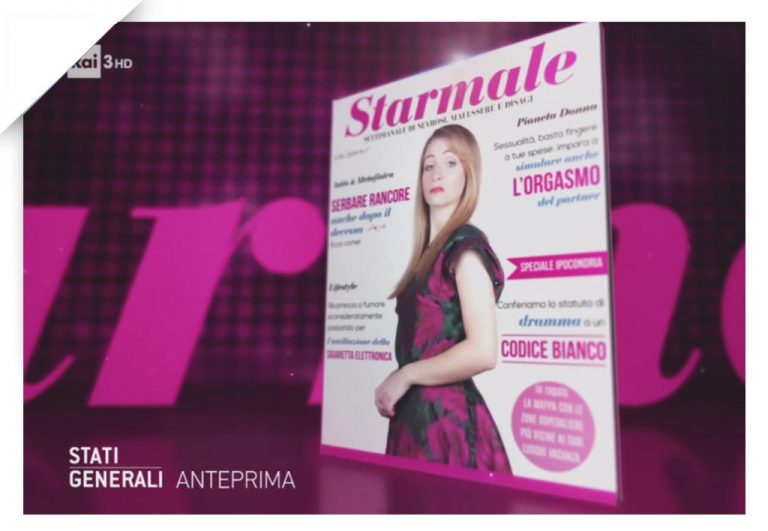 Starmale cover 03, Stati Generali, Rai3