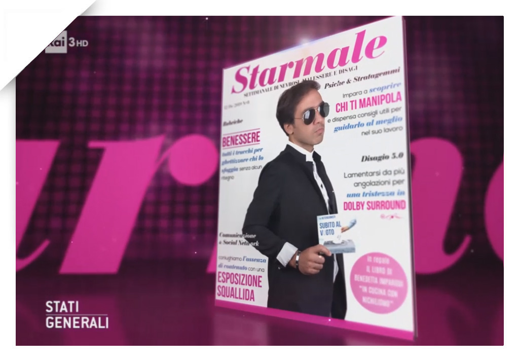 Starmale cover 04, Stati Generali, Rai3
