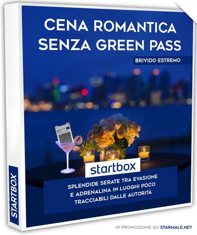 "startbox: ""Cena Romantica senza Green Pass"""